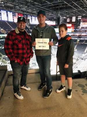 Roberto attended San Antonio Spurs vs. Oklahoma City Thunder - NBA on Nov 7th 2019 via VetTix