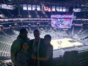 Vincent attended San Antonio Spurs vs. Brooklyn Nets - NBA on Dec 19th 2019 via VetTix