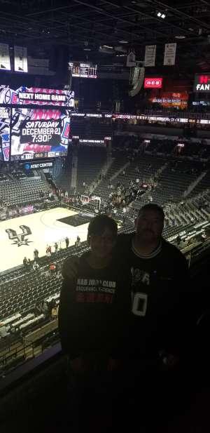 Felix attended San Antonio Spurs vs. Brooklyn Nets - NBA on Dec 19th 2019 via VetTix