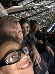 Justin attended San Antonio Spurs vs. Brooklyn Nets - NBA on Dec 19th 2019 via VetTix