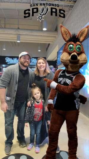 Bryan attended San Antonio Spurs vs. Brooklyn Nets - NBA on Dec 19th 2019 via VetTix