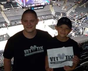 Adam attended San Antonio Spurs vs. Brooklyn Nets - NBA on Dec 19th 2019 via VetTix