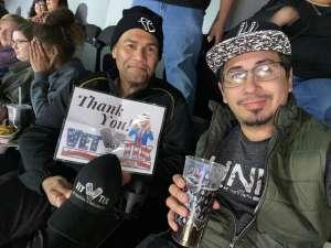 Israel attended San Antonio Spurs vs. Brooklyn Nets - NBA on Dec 19th 2019 via VetTix