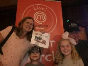 James attended Masterchef Junior Live! on Oct 21st 2019 via VetTix