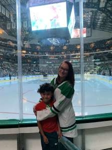 Andrea attended Dallas Stars vs. Ottawa Senators - NHL on Oct 21st 2019 via VetTix