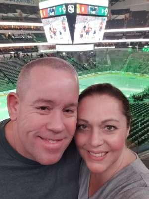Gregory attended Dallas Stars vs. Ottawa Senators - NHL on Oct 21st 2019 via VetTix