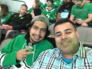 Javier attended Dallas Stars vs. Ottawa Senators - NHL on Oct 21st 2019 via VetTix