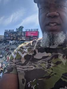 Reginald attended Tulane Green Wave vs. University of Central Florida Knights - NCAA Football on Nov 23rd 2019 via VetTix