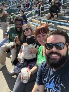 Jenna attended Tulane Green Wave vs. University of Central Florida Knights - NCAA Football on Nov 23rd 2019 via VetTix