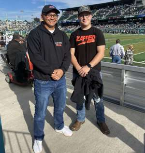 Alex attended Tulane Green Wave vs. University of Central Florida Knights - NCAA Football on Nov 23rd 2019 via VetTix