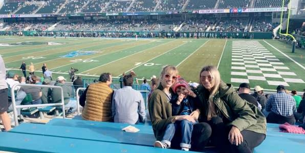 Marshall attended Tulane Green Wave vs. University of Central Florida Knights - NCAA Football on Nov 23rd 2019 via VetTix