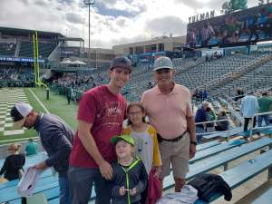 Carlos attended Tulane Green Wave vs. University of Central Florida Knights - NCAA Football on Nov 23rd 2019 via VetTix