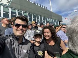 Gadiel attended Tulane Green Wave vs. University of Central Florida Knights - NCAA Football on Nov 23rd 2019 via VetTix