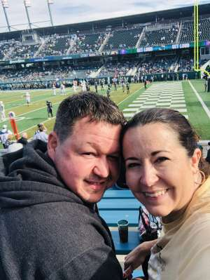 Robert attended Tulane Green Wave vs. University of Central Florida Knights - NCAA Football on Nov 23rd 2019 via VetTix