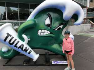 Ricky attended Tulane Green Wave vs. University of Central Florida Knights - NCAA Football on Nov 23rd 2019 via VetTix