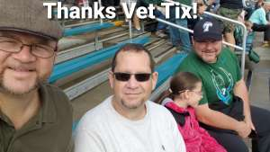 Paul attended Tulane Green Wave vs. University of Central Florida Knights - NCAA Football on Nov 23rd 2019 via VetTix