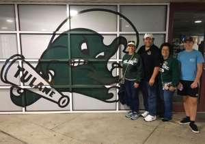 CMSGT Mike Roberts attended Tulane Green Wave vs. University of Central Florida Knights - NCAA Football on Nov 23rd 2019 via VetTix