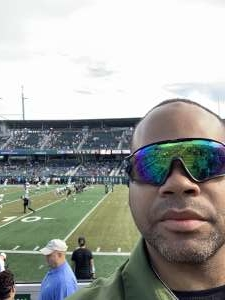 John attended Tulane Green Wave vs. University of Central Florida Knights - NCAA Football on Nov 23rd 2019 via VetTix
