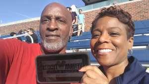 khadra attended Southern Methodist University Mustangs vs. Tulane University - NCAA Football on Nov 30th 2019 via VetTix