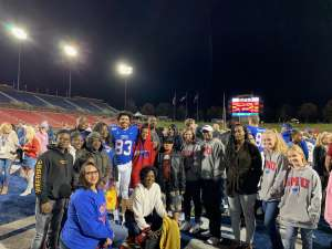 Kenneth attended Southern Methodist University Mustangs vs. Tulane University - NCAA Football on Nov 30th 2019 via VetTix