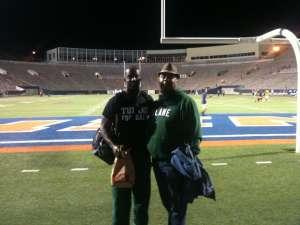 Kevin attended Southern Methodist University Mustangs vs. Tulane University - NCAA Football on Nov 30th 2019 via VetTix
