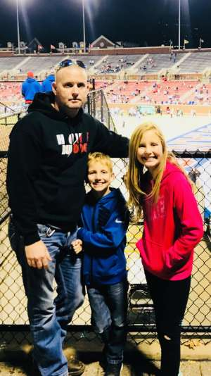 Sean attended Southern Methodist University Mustangs vs. Tulane University - NCAA Football on Nov 30th 2019 via VetTix