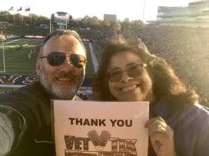 Lloyd attended Southern Methodist University Mustangs vs. Tulane University - NCAA Football on Nov 30th 2019 via VetTix