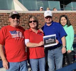Julie Jayne attended Southern Methodist University Mustangs vs. Tulane University - NCAA Football on Nov 30th 2019 via VetTix