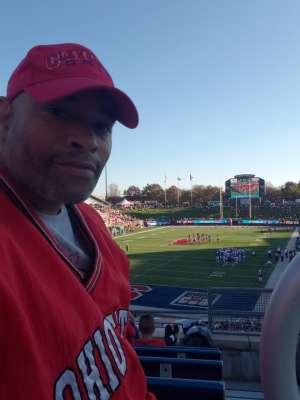 Norman attended Southern Methodist University Mustangs vs. Tulane University - NCAA Football on Nov 30th 2019 via VetTix