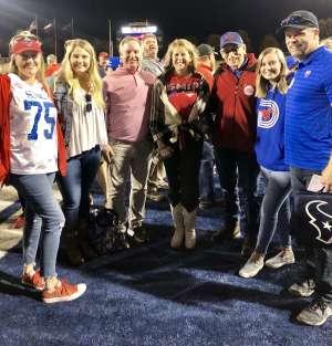 Paul attended Southern Methodist University Mustangs vs. Tulane University - NCAA Football on Nov 30th 2019 via VetTix