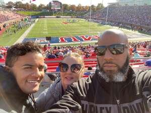 Gary attended Southern Methodist University Mustangs vs. Tulane University - NCAA Football on Nov 30th 2019 via VetTix