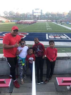 Eric W. attended Southern Methodist University Mustangs vs. Tulane University - NCAA Football on Nov 30th 2019 via VetTix