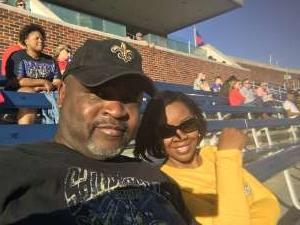 Vincent attended Southern Methodist University Mustangs vs. Tulane University - NCAA Football on Nov 30th 2019 via VetTix