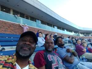Everett attended Southern Methodist University Mustangs vs. Tulane University - NCAA Football on Nov 30th 2019 via VetTix
