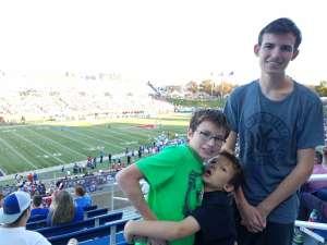 Warren attended Southern Methodist University Mustangs vs. Tulane University - NCAA Football on Nov 30th 2019 via VetTix