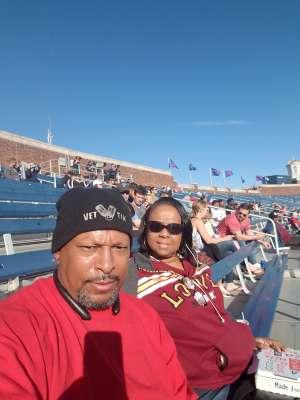 Holmes attended Southern Methodist University Mustangs vs. Tulane University - NCAA Football on Nov 30th 2019 via VetTix