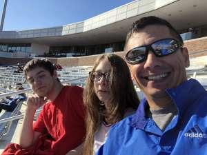 Jonathan attended Southern Methodist University Mustangs vs. Tulane University - NCAA Football on Nov 30th 2019 via VetTix