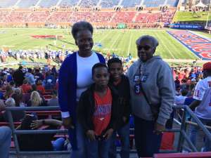 DM:) attended Southern Methodist University Mustangs vs. Tulane University - NCAA Football on Nov 30th 2019 via VetTix