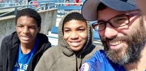 Anthony attended Southern Methodist University Mustangs vs. Tulane University - NCAA Football on Nov 30th 2019 via VetTix