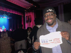 Anthony attended Ruben Studdard Sings Luther on Oct 30th 2019 via VetTix