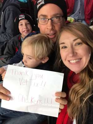 Click To Read More Feedback from Charlotte Checkers vs. Springfield Thunderbirds - AHL ***military Appreciation Game***