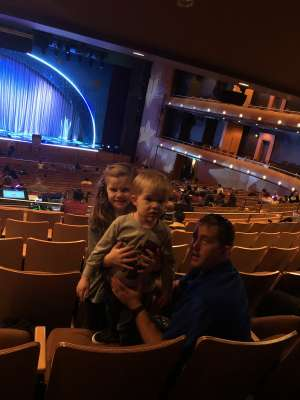 Bradley attended Nick Jr. Live! Move to the Music - Presented by Vstar Entertainment on Dec 1st 2019 via VetTix