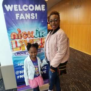 Angela attended Nick Jr. Live! Move to the Music - Presented by Vstar Entertainment on Dec 1st 2019 via VetTix