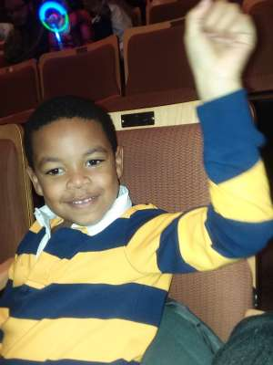 Ocean attended Nick Jr. Live! Move to the Music - Presented by Vstar Entertainment on Dec 1st 2019 via VetTix
