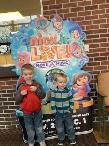 Jason attended Nick Jr. Live! Move to the Music - Presented by Vstar Entertainment on Nov 30th 2019 via VetTix