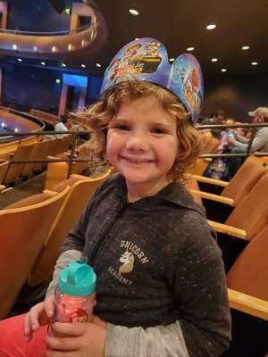 Candice attended Nick Jr. Live! Move to the Music - Presented by Vstar Entertainment on Nov 30th 2019 via VetTix