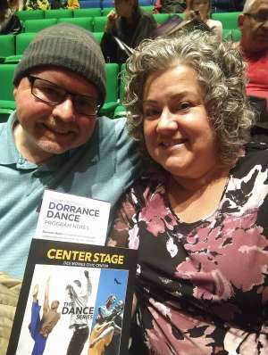 D. Adkins attended Dorrance Dance on Oct 22nd 2019 via VetTix