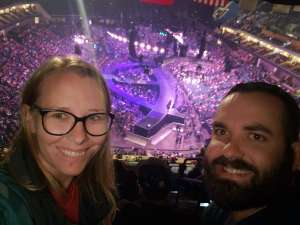 Sara attended Carrie Underwood: the Cry Pretty Tour 360 on Oct 24th 2019 via VetTix