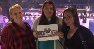 George attended Carrie Underwood: the Cry Pretty Tour 360 on Oct 24th 2019 via VetTix