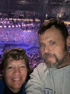 Paul attended Carrie Underwood: the Cry Pretty Tour 360 on Oct 24th 2019 via VetTix